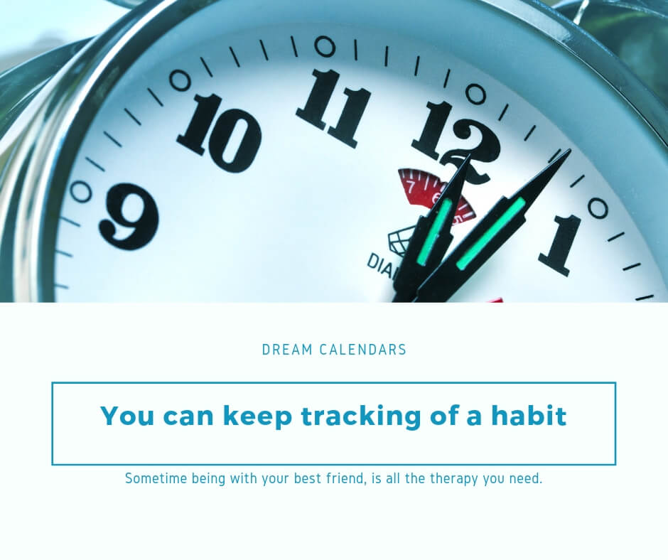 Keep tracking a habit
